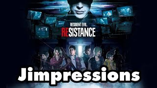 Resident Evil: Resistance - I Like It But It's Kinda Bad? (Jimpressions) (Video Game Video Review)