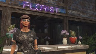 Fiona relocates the flower shop   FALLOUT 4   PS4