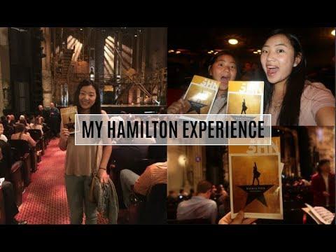 my HAMILTON experience!! San Francisco