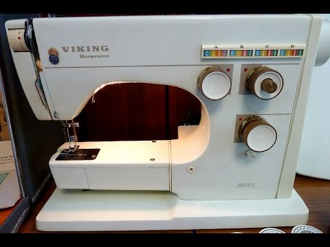 Repair A Husqvarna Viking 40 That's Stuck And Won't Move YouTube Delectable Viking Sewing Machine Models