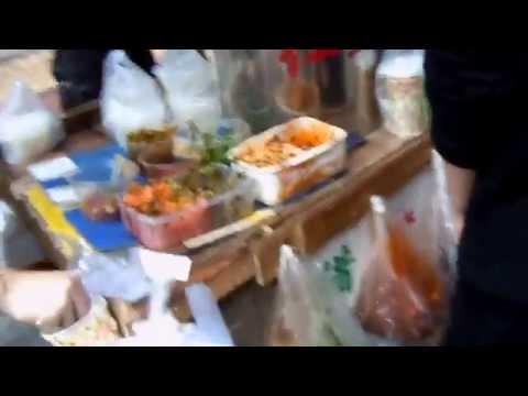 Street food breakfast in Shenzhen China