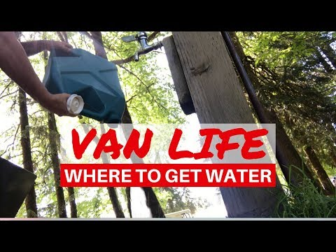 Where to get Water, Water Storage | Van Life Questions
