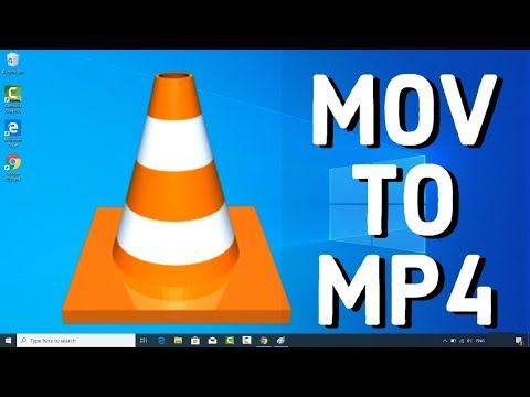 How to convert .MOV to .MP4 using VLC Media Player
