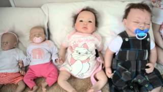 reborn doll size comparison and clothing sizes.