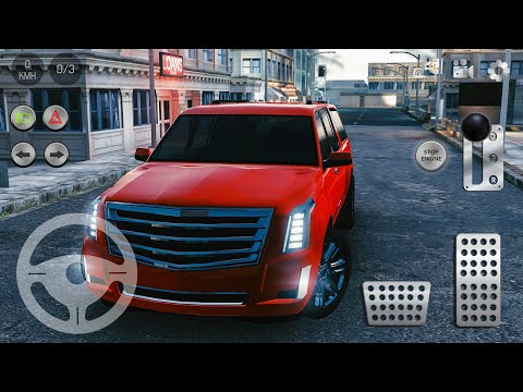 Real Parking|Real Car Parking 2 Driving School 2018 #28 Cadillac Escalade - Android Gameplay