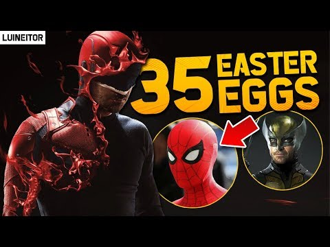 DAREDEVIL Temporada 3 - 35 Secretos, Referencias, Cameos y Easter Eggs de la serie!! - Luineitor!