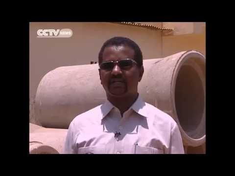 Effects of the floods in Sudan's capital Khartoum