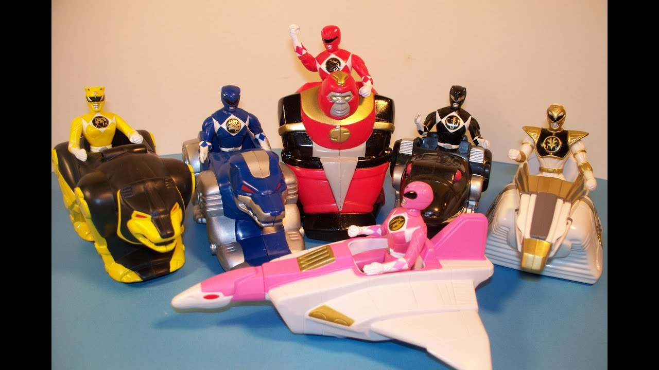 McDonalds Power Rangers: Toys Hobbies eBay