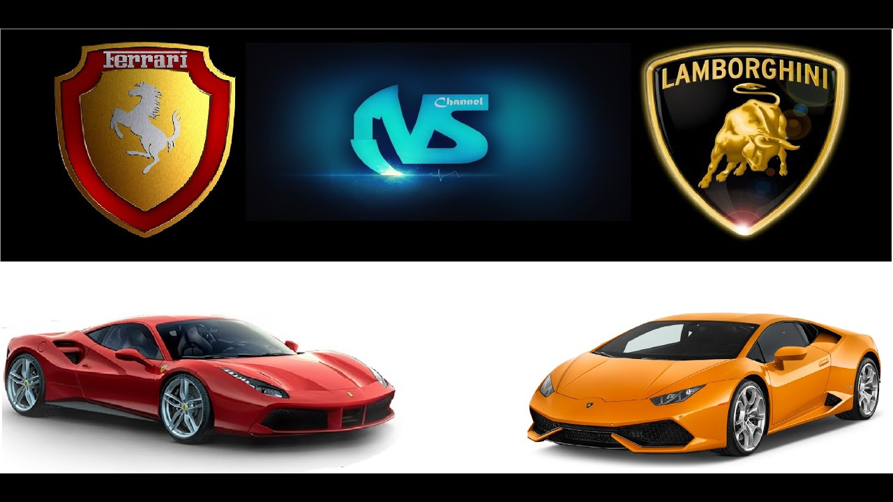 must see ferrari gtb 488 vs lamborguini hurac n lp 610 4. Black Bedroom Furniture Sets. Home Design Ideas