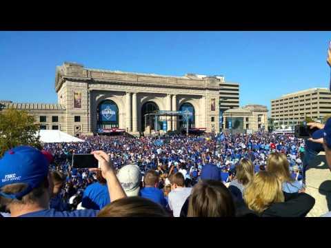 Kansas City Royals parade and celebration