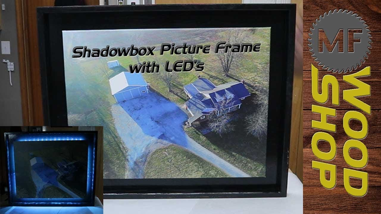 Shadowbox picture frame with led lights youtube shadowbox picture frame with led lights jeuxipadfo Images