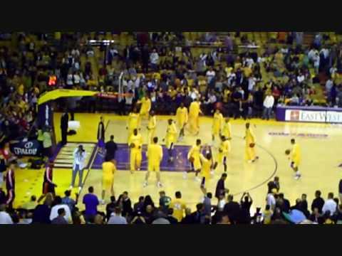 Lakers at the Fabolous Forum