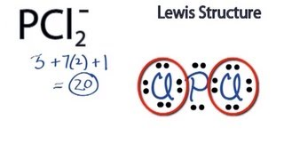 pcl2 lewis structure how to draw the lewis structure for pcl2