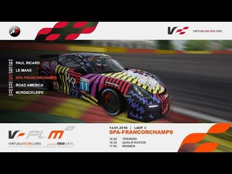 Assetto Corsa | PLM | - 14.01.2018 - Lauf 3 Spa-Francorchamps