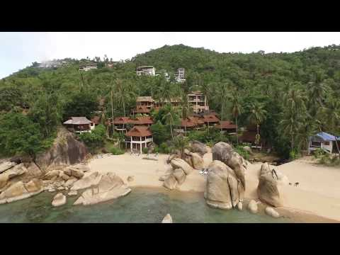 Koh Samui Aerial Video – Lamai Fisherman, Crystal Bay and Coral Cove