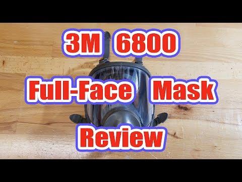 3M 6700/6800/6900 Full-Face Respirator Review