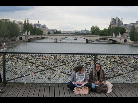 A Walk through Paris, France, visiting the top ten travel attractions and more