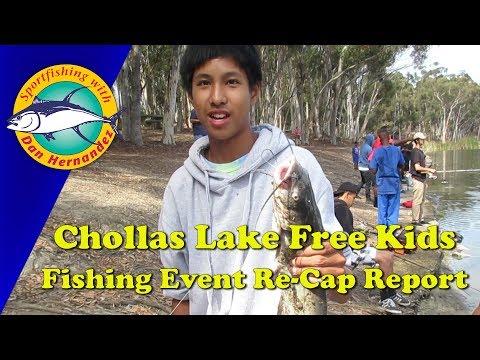 Chollas Lake Free Kids Fishing Event Re-Cap Report   SPORT FISHING