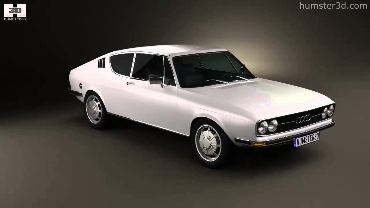 Audi 100 Coupe S 1970 by 3D model store Humster3D.com - YouTube