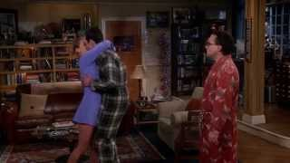 Shenny (Sheldon and Penny) First Kiss - The Big Bang Theory 9x02