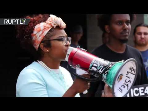 'Blue lies matter'– St. Anthony protesters demand justice for Philando Castile