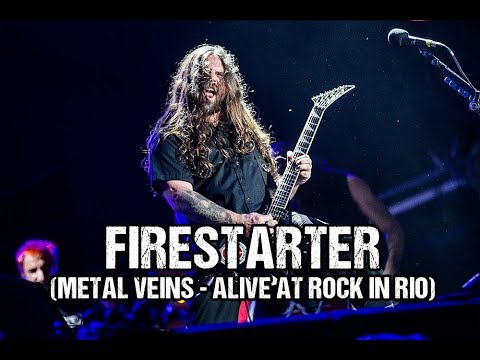 Sepultura - Firestarter [The Prodigy] Metal Veins Alive At Rock in Rio [feat. Les Tambours du Bronx] Mp3