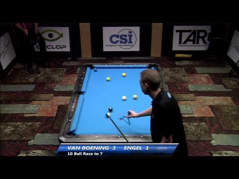 2014 CSI USBTC 10 Ball: Shane Van Boening vs Jesse Engle