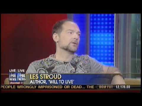 Survivorman Les Stroud on FOX News 02/09/11