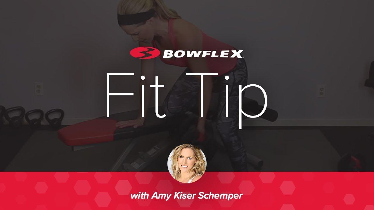 Bowflex Fit TIP   Trouble Spots: The Back