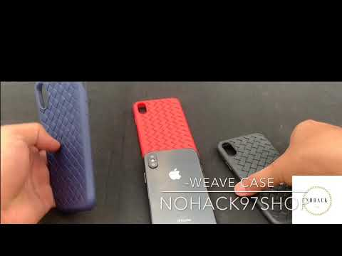 Weave Case Review Phone case All Iphone Oppo Casing , Simple cool case | Nohack97Shop |