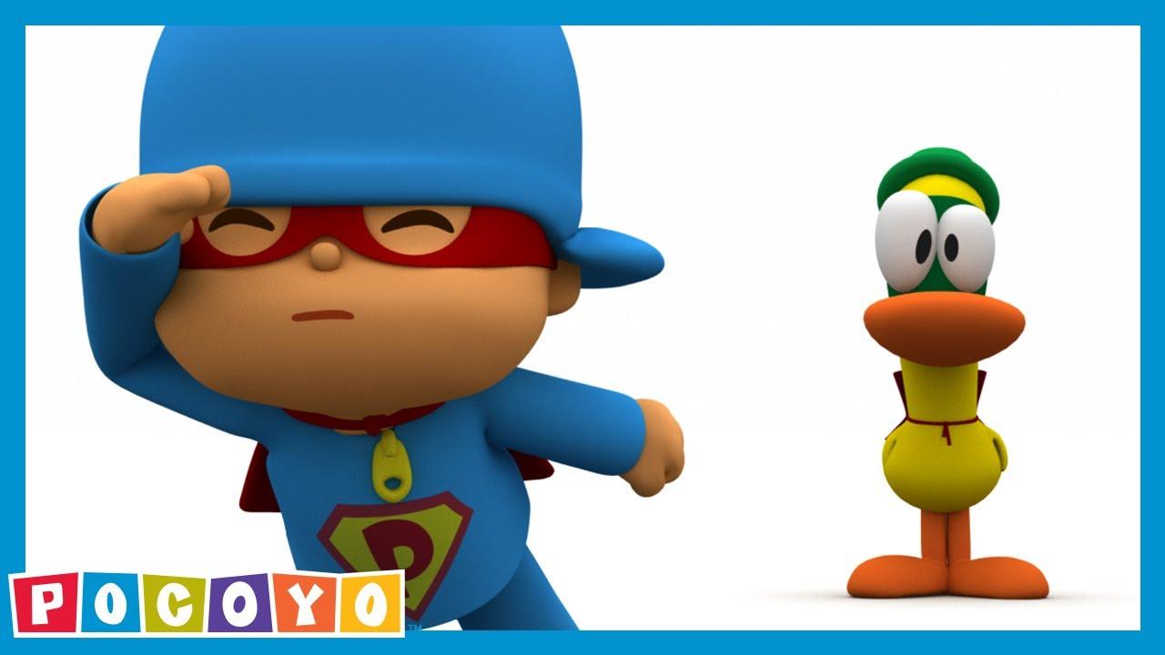 Pocoyo super pocoyo 👮 s e cartoni animati youtube