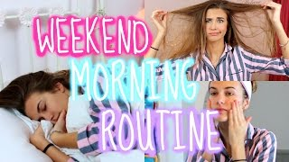My Weekend Morning Routine | Olivia