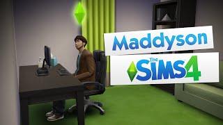 Maddyson играет в SIMS 4