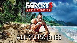 FAR CRY 3 Classic Edition All Cutscenes (Game Movie) Xbox One X