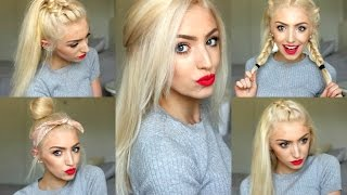 5 Easy SPRING/ SUMMER HAIRSTYLES 2016!