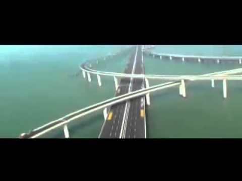 worlds longest sea bridge stunning engineering construction