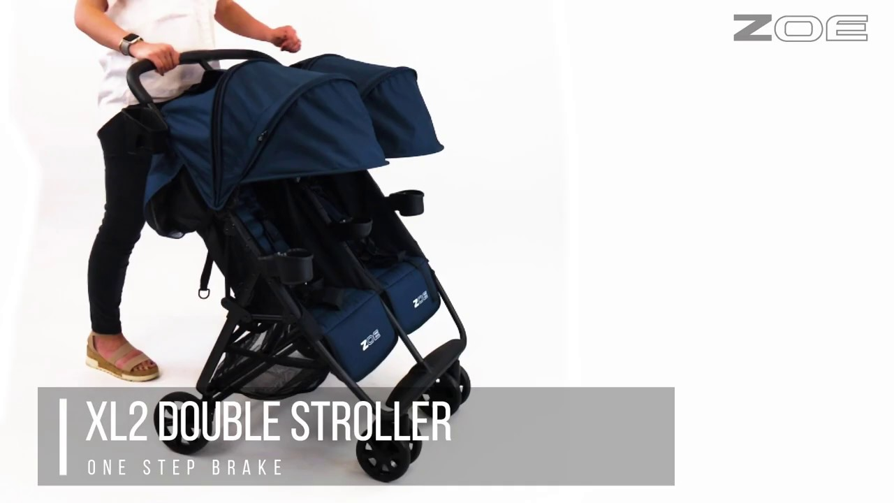 Zoe Xl2 Double Stroller Overview