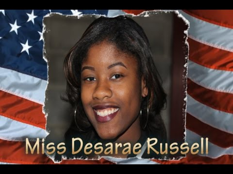 Desarae Russell Sings National Anthem at MD 2A High School Football Championship at M&T Bank Stadium