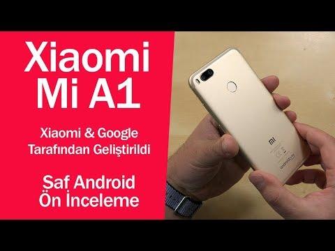 Xiaomi'nin Android One telefonu   Mi A1 ön inceleme