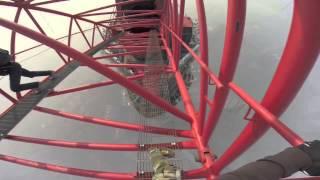 Russian Climbers Scale Shanghai Tower ;) Terrifying HD