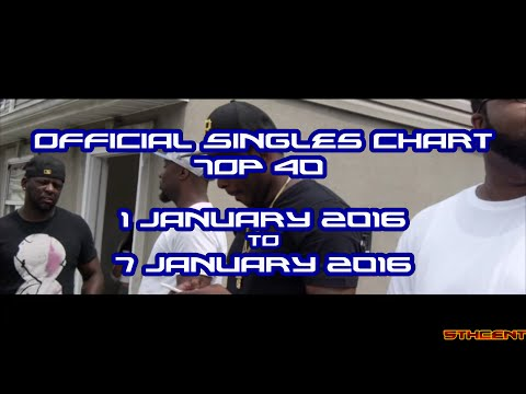 Official Charts (UK): Top 40 Singles (1 January 2016 - 7 January 2016)