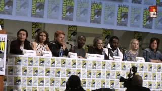 The Walking Dead Season 5 | Comic-Con 2014 panel The Cast (2014)