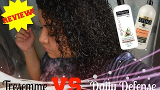 Tresemme VS.  Daily Defense CONDITIONER REVIEW  I GOT LOCKED OUT OF MY CAR!
