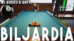Biljardia - Antti vs Aukku vs Pevukka | Jyväs-Snooker