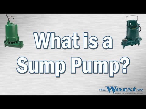 What Is A Sump Pump?