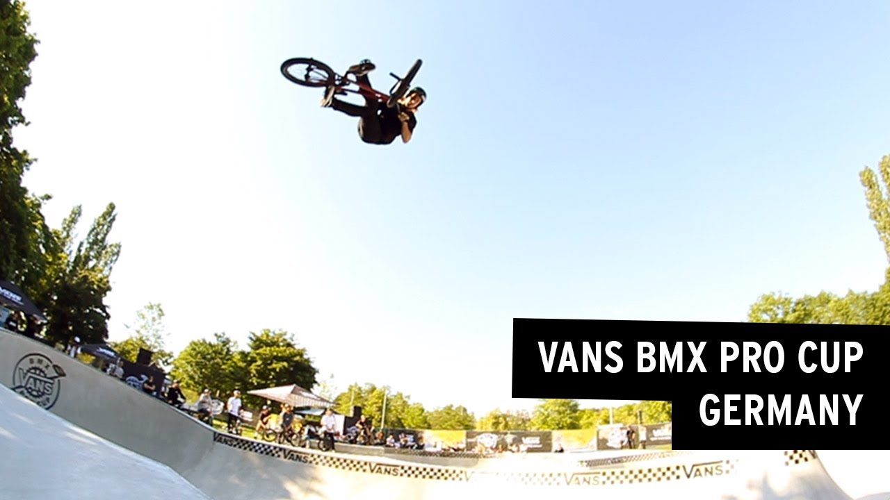 VANS BMX Pro Cup in Germany: Practice Highlights