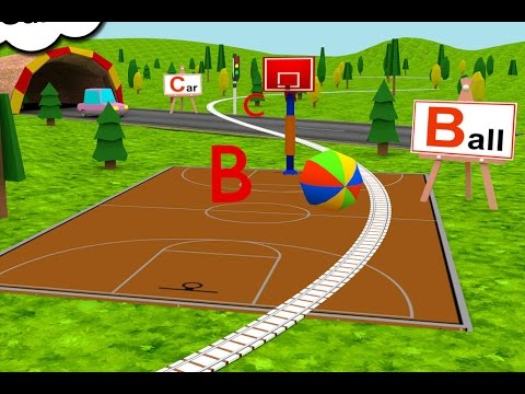 Learn ABC Alphabet Train Kids game - ABC train is an exciting A to Z learning game for kids