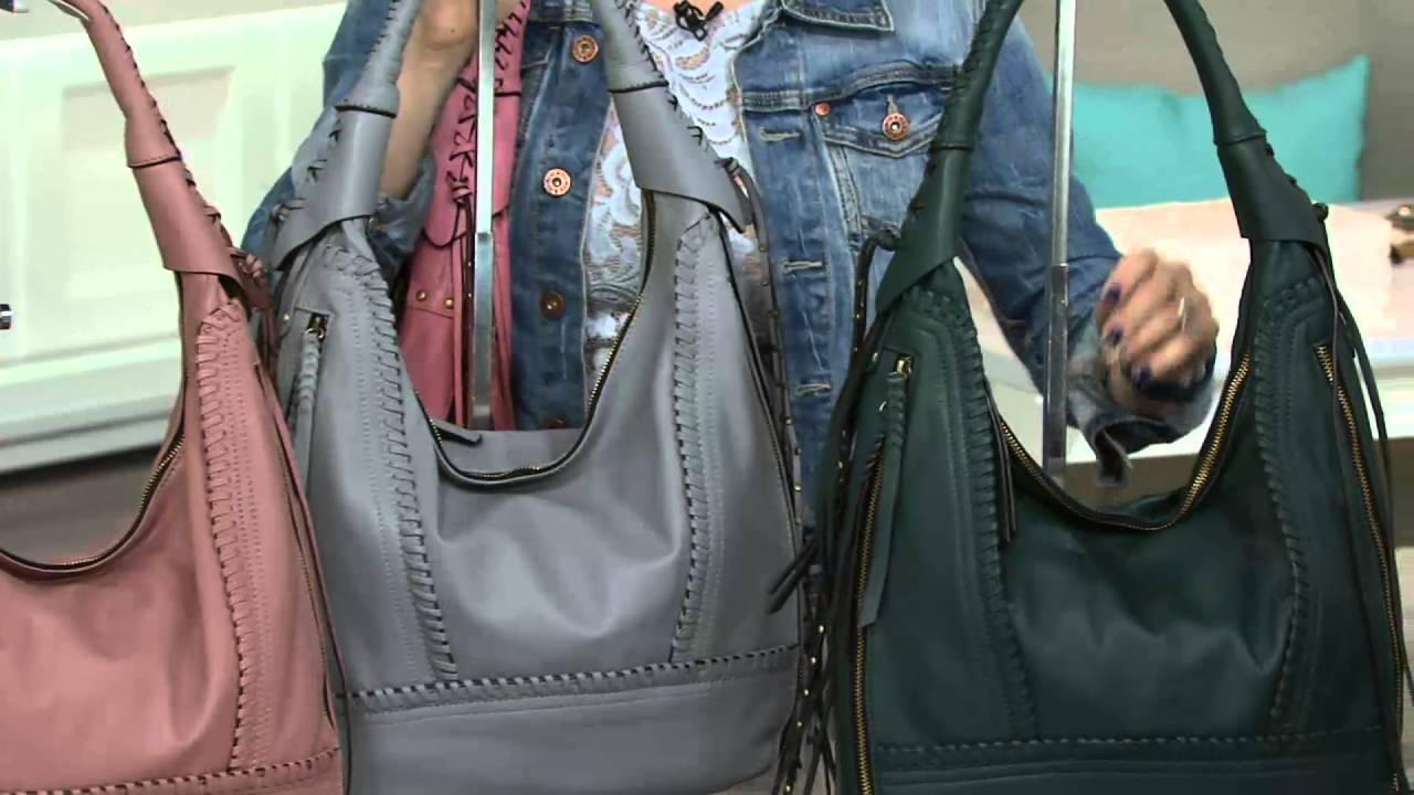 850cf5818f orYANY Soft Nappa Leather Hobo - Michelle on QVC - YouTube