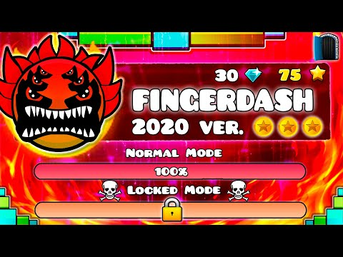 THE NEW FINGERDASH IS EXTREME DEMON