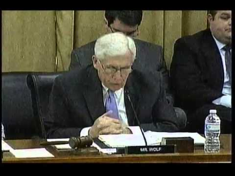 NASA Request, Oversight of NASA Security, House Appropriations Science Subcommittee, April 8, 2014